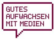 Logo Initiative Gutes Aufwachsen mit Medien des BMFSFJ
