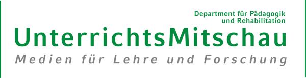 Logo Unterrichtsmitschau und didaktische Forschung der LMU München